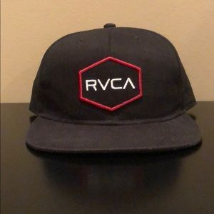 RVCA snap back hat